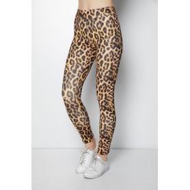 Colanti Dama Imprimeu Leopard, Marimea XXL