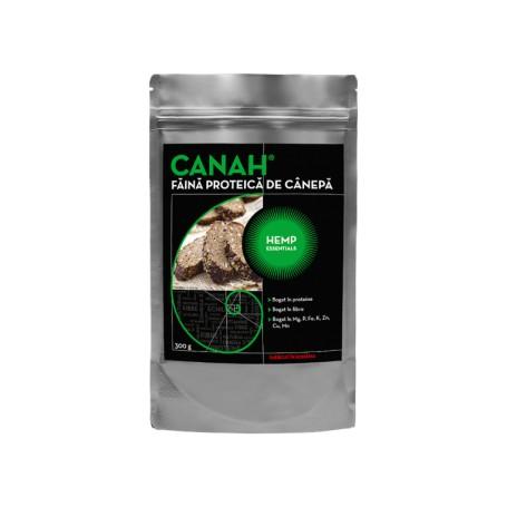 Făină de Cânepă Proteică, 300g Canah