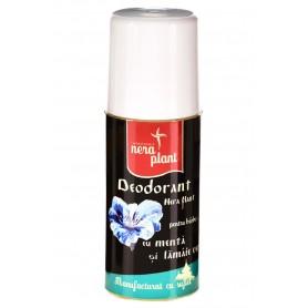 Deodorant Barbati cu Menta si Lamaie Verde, Bio 50ML Nera Plant