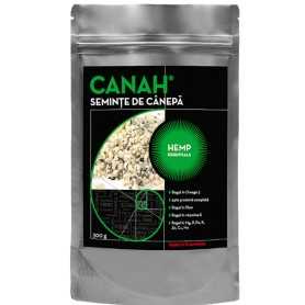 Seminte de Canepa Decorticate, 300g Canah
