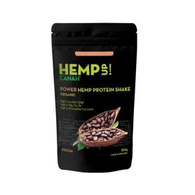 Power Shake Proteic De Canepa Si Cacao Eco - 300 g Canah