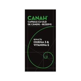 Capsule cu Ulei de Canepa, Rezerve 84 bucati Canah