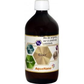 AquaNano Elixir (Argint, Aur, Argint) 480ML Aghoras