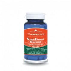 Super Enzime Digestive, 60 capsule Herbagetica