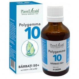 Polygemma 10 Barbati 50+, 50ML Plantextrakt