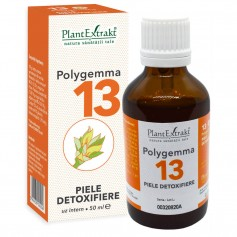 POLYGEMMA NR.13 50ML (PIELE-DETOXIFIERE)