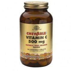 Vitamin C 500mg chewable tabs 90s (orange) SOLGAR
