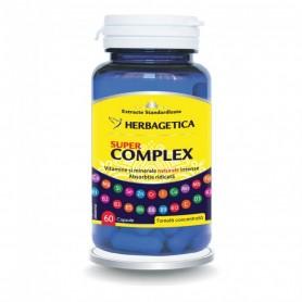 Vitamine si Minerale, Super Complex, 60 capsule Herbagetica