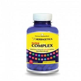 Vitamine si Minerale, Super Complex, 120 capsule Herbagetica