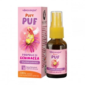 PufyPuf, Spray cu Propolis si Echinacea, 20ML Dacia Plant