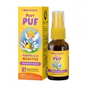 PufyPuf, Spray cu Propolis si Musetel, 20ML Dacia Plant