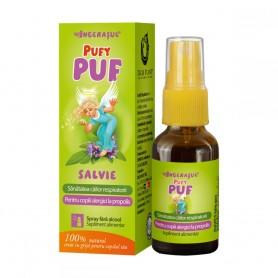 PufyPuf, Spray cu Salvie fara Alcool, 20ML Dacia Plant