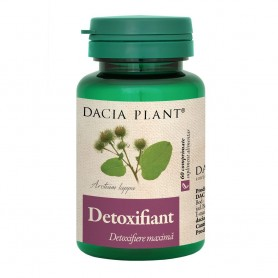 Detoxifiant, 60 comprimate Dacia Plant