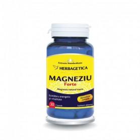 Magneziu Forte, 30 capsule Herbagetica