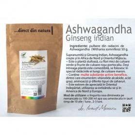 Ashwagandha, 50g Pro Natura