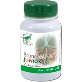 Broncholizin Junior, 250 capsule Pro Natura