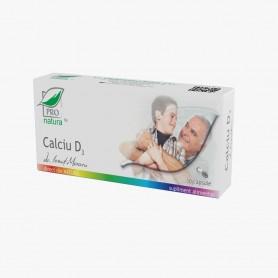 Calciu D3, 30 capsule Pro Natura