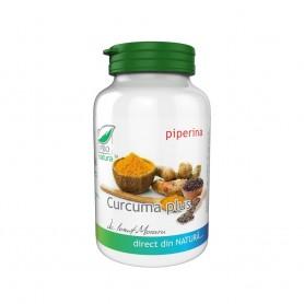 Curcuma Plus cu Piperina, 60 cps