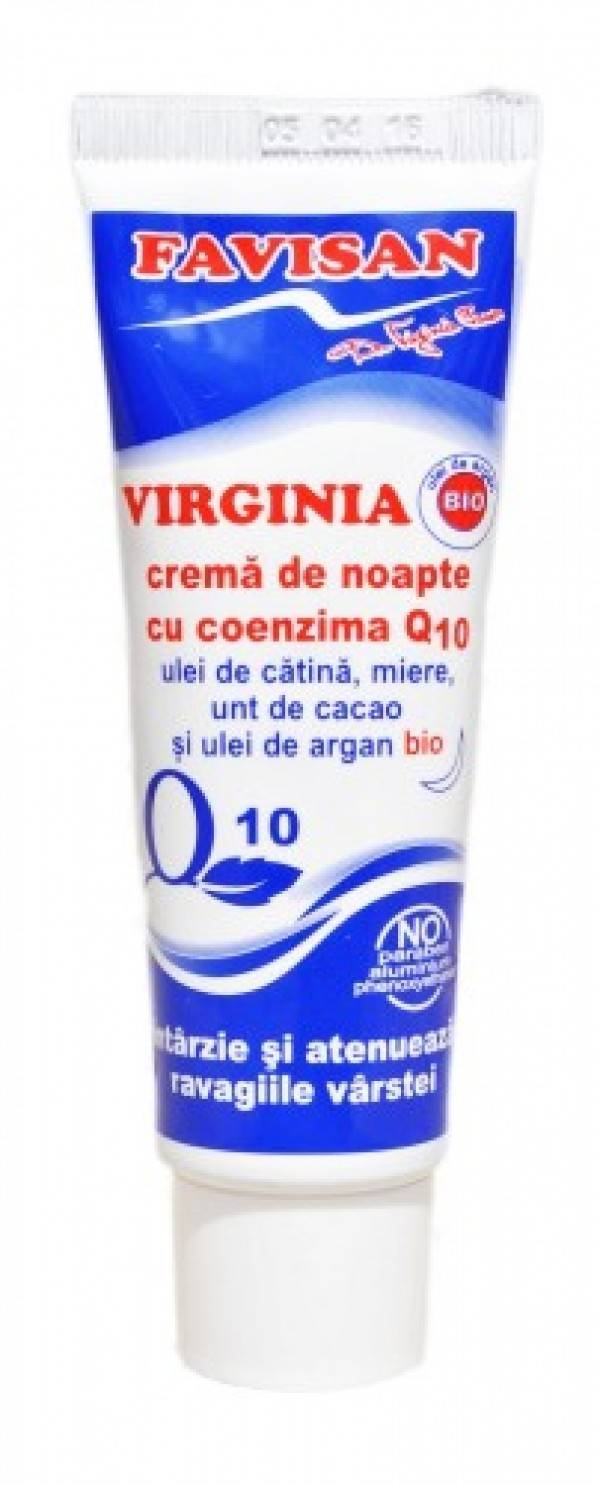 CREMA NOAPTE COENZIMA Q10 VIRGINIA 50 ML