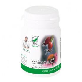 Echinacea C, 60 capsule Pro Natura
