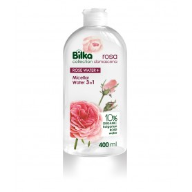 Apa Micelara 3in1 cu Apa de Trandafiri Organica si D-Panthenol, 400ML