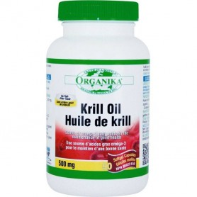 Krill Oil, 500 Mg, 90 cps