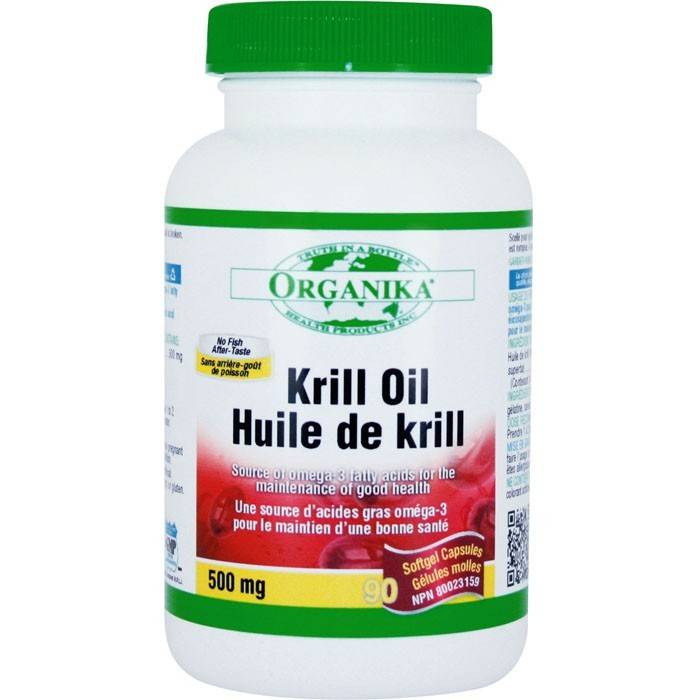 krill oil 500 mg 90 cps