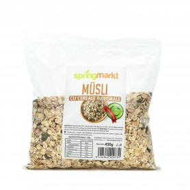 Musli cu Cereale Integrale, 450g Springmarkt