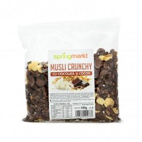 Musli Crunchy cu Ciocolata si Cocos, 350g Springmarkt