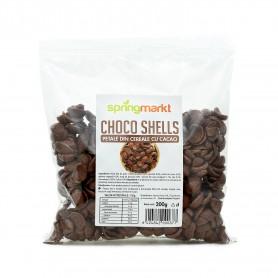 Choco Shells, Petale din Cereale cu Cacao, 200g Springmarkt