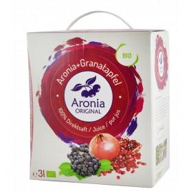 Suc de Aronia cu Suc de Rodie Pur Ecologic 3L