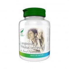 L-Arginina si Tribulus Terrestris, 150 capsule Pro Natura