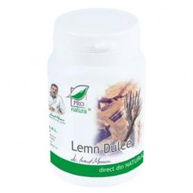Lemn Dulce, 60 capsule Pro Natura