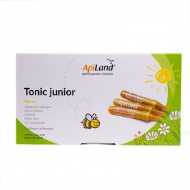 Tonic junior 10 fiole x 10 ml apiland