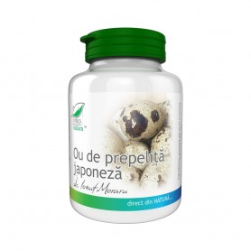 Ou de Prepelita Japoneza, 250 capsule Pro Natura