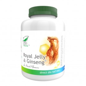 Royal Jelly si Ginseng, 200 capsule Pro Natura