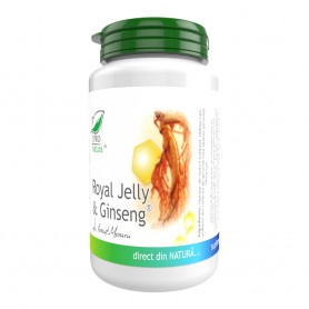 Royal Jelly si Ginseng, 60 capsule Pro Natura