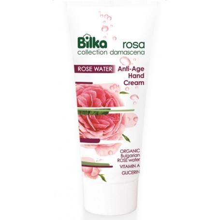 Crema de maini anti-imbatranire Rosa Damascena