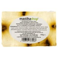 Sapun Natural cu Glicerina, Musetel si Lapte de Ovaz, 100 g Mediterra