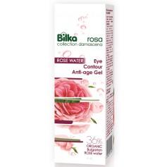 Gel Contur De Ochi Organic Rosa Damascena 25 ML