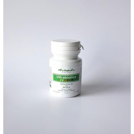 Probiotice, Ultrabiotics Junior, 60 capsule Pro Natura