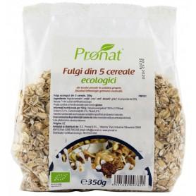Fulgi din 5 Cereale Bio, 350g Pronat