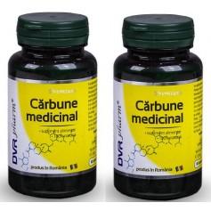 Carbune Medicinal Pachet - 2 x 60 cps