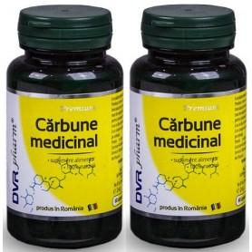 Carbune Medicinal Pulbere, Pachet 2 bucati Dvr Pharm