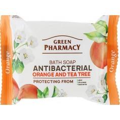 Sapun Antibacterian Protector cu Portocala si Arbore de Ceai, 100g