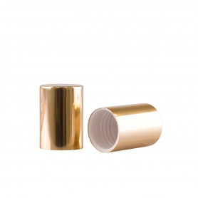 Capac Gold pentru recipiente Roll-On mini de 10 ml