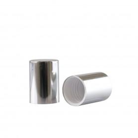 Capac Silver pentru recipiente Roll-On mini de 10 ml