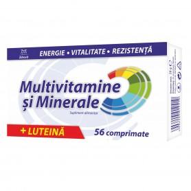 MULTIVITAMINE + MINERALE + LUTEINA 56 CPR