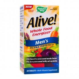 Alive, Vitamine pentru Barbati,Men's Ultra 30 tablete