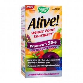 Alive Vitamine pentru Femei, Women's 50+ Ultra 30 tablete